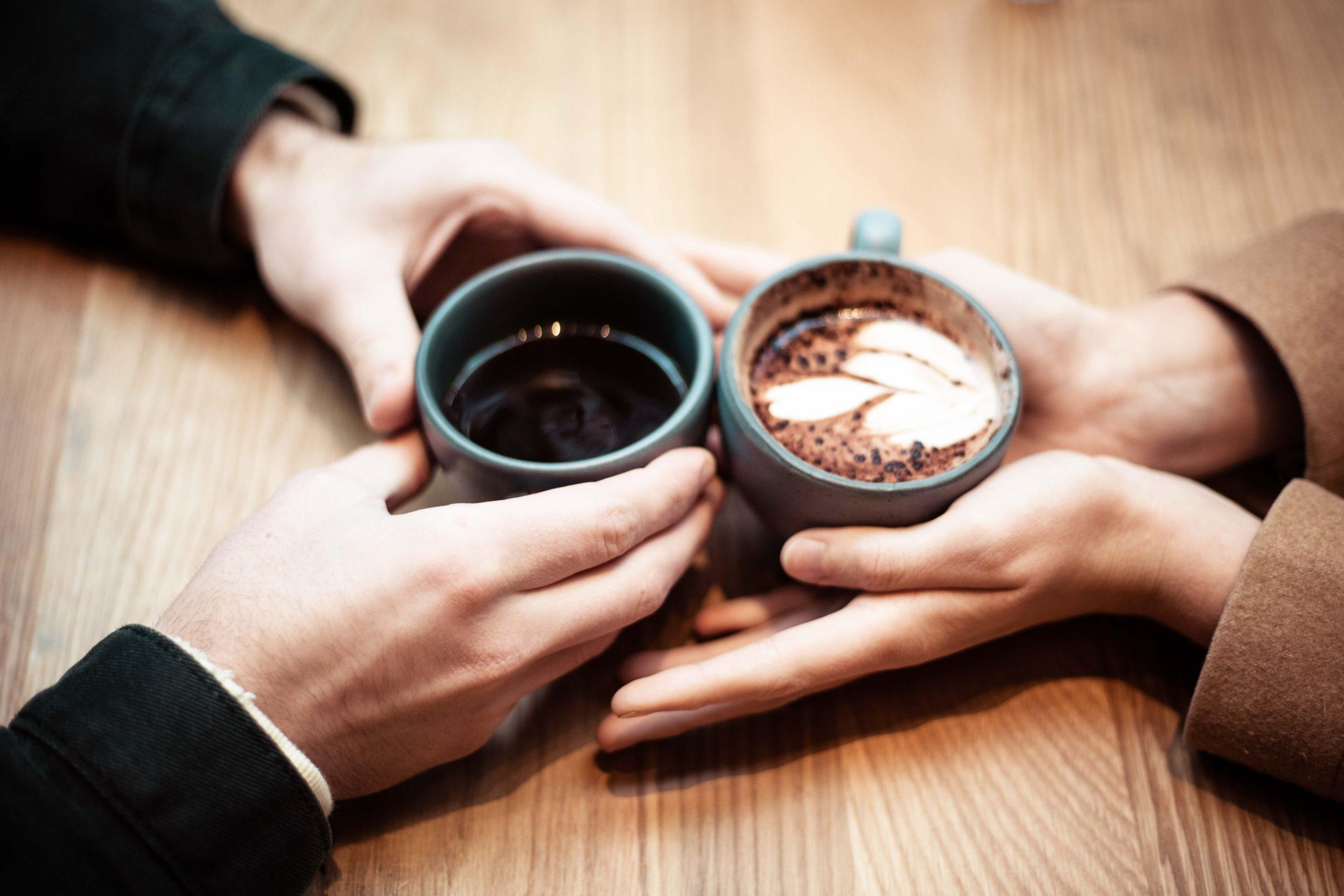 High-end singles dating over coffee